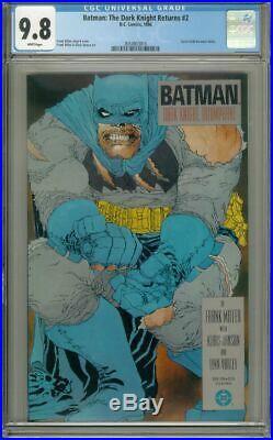 BATMAN The DARK KNIGHT RETURNS #2 (DC Comics, 1986) CGC Graded 9.8 1st Print