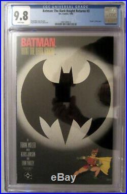 BATMAN The DARK KNIGHT RETURNS #3 (Death of Joker) CGC Graded 9.8 1st Print