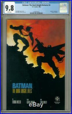 BATMAN The DARK KNIGHT RETURNS #4 (DC Comics, 1986) CGC Graded 9.8 1st Print