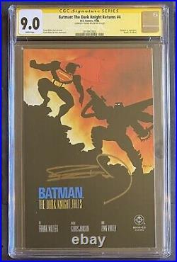 BATMAN The DARK KNIGHT RETURNS CGC Signature FRANK MILLER Sketch DC Comic LOT