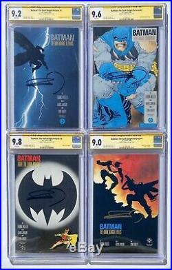 BATMAN The DARK KNIGHT RETURNS CGC Signature Series FRANK MILLER DC Comics LOT