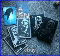 BATMAN The Dark Knight Returns 10th Ann Edi Hard Cov Slipcase MIN + 4 org comics