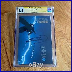 BATMAN The Dark Knight Returns #1 CGC 9.2 SS Signed MILLER (2125133001)