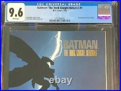 BATMAN The Dark Knight Returns #1 CGC 9.6 1st Print WP Frank Miller Classic NM+