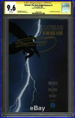 BATMAN The Dark Knight Returns #1 CGC 9.6 SS Signed MILLER (1961014005)