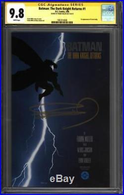 BATMAN The Dark Knight Returns #1 CGC 9.8 SS Signed MILLER (1961014008)