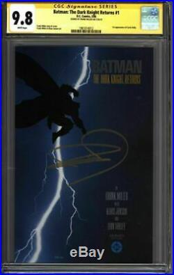 BATMAN The Dark Knight Returns #1 CGC 9.8 SS Signed MILLER (1961014012)