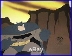 BRUCE TIMM Art rare BATMAN Legends of the Dark Knight Animation cel