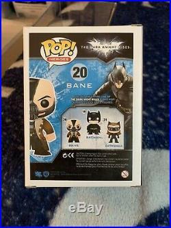 Bane FUNKO POP The Dark Knight Rises RETIRED