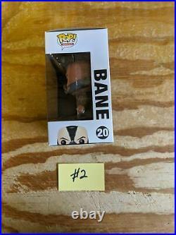 Bane (The Dark Knight Rises) Vinyl Art Toys Brand Funko Series Pop! Heroes, P