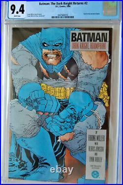 BatmanThe Dark Knight Returns #21ST PRINTCGC GRADE 9.4 NMFRANK MILLER STORY
