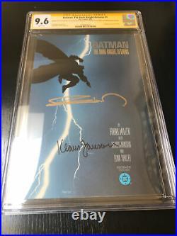 BatmanThe Dark Knight Returns Set 1-4 CGC Signed F. Miller/K. Janson 9.6 NM