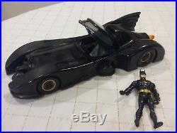 Batman 1990 Batmobile The Dark Knight Collection Kenner