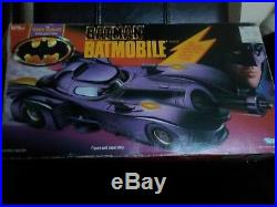 Batman 1990 Kenner Batmobile The Dark Knight Collection