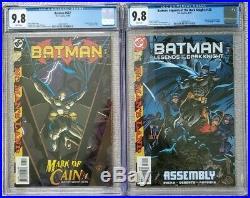 Batman #567 Batman + Legends of the Dark Knight #120 CGC 9.8 1ST CASSANDRA CAIN