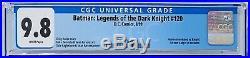 Batman #567 Batman Shadow of the Bat #83 Legends of the Dark Knight #120 CGC 9.8