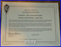 Batman Animated Series Production Drawing The Batman Dark Knight