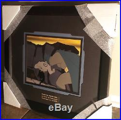Batman Animated series original production cel & BG Legends of the Dark Knight