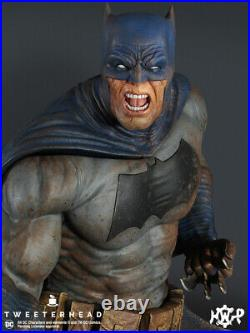 Batman Dark Knight Maquette Statue -The Muddy Edition Tweeterhead In stock now