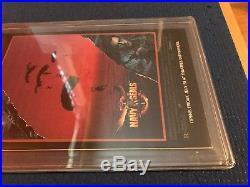 Batman Legends Of The Dark Knight #10! Signed Bob Kane PGX 9.4 (Like CGC / CBCS)