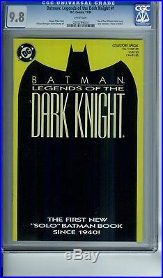 Batman Legends Of The Dark Knight 1 Cgc 9.8 Lot Set Of 4 All Color Cvr Variants