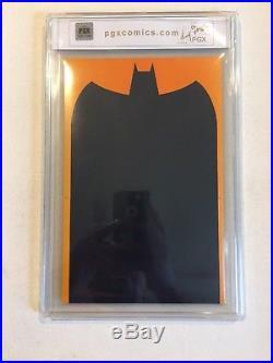 Batman Legends Of The Dark Knight #1 Pgx 9.6 (like Cgc) Signed By Bob Kane
