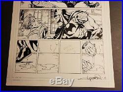 Batman Legends Of The Dark Knight #66 Page 2 Joker Original Art Aaron Lopresti