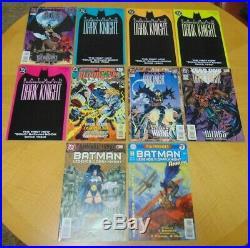 Batman Legends Of The Dark Knight Lot Of 168 Books! Nm+ Unread Copies