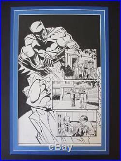 Batman Legends of The Dark Knight #203 ORIGINAL ART Splash Page #6 Ron Wagner