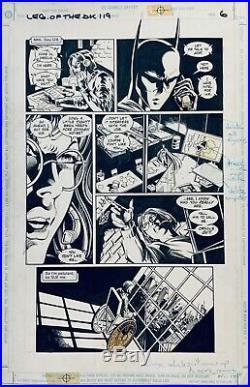 Batman Legends of the Dark Knight 119 pg 6 MIKE DEODATO Batgirl Oracle Batman