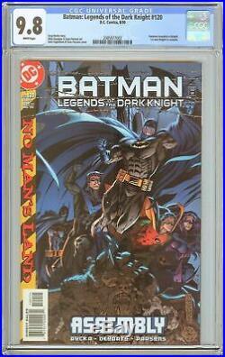 Batman Legends of the Dark Knight #120 CGC 9.8 WP 2085977002