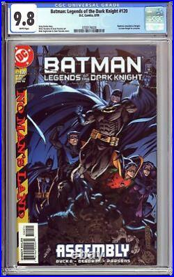Batman Legends of the Dark Knight #120 CGC 9.8 WP 3700176020