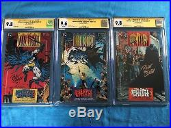 Batman Legends of the Dark Knight #21-23 set -DC CGC SS 9.8 9.6 -Sig by Sears