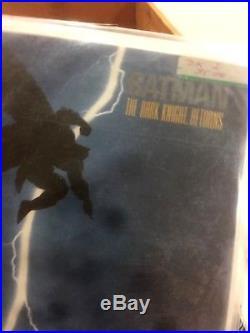 Batman THE DARK KNIGHT RETURNS book 2 1986 First Print. MINT 10.0 GEM