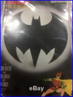 Batman THE DARK KNIGHT RETURNS book 4 1986 First Print. MINT 10.0 GEM Flawless