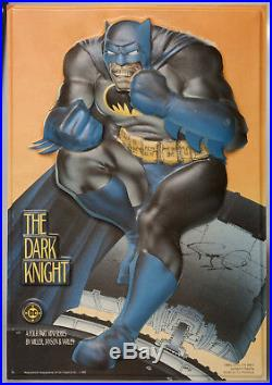 Batman The DARK KNIGHT 3D Vacuform Comic Shop Display Signed FRANK MILLER Rare