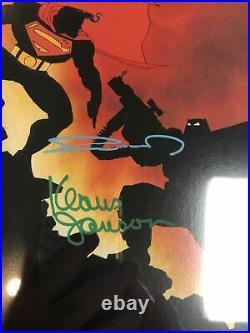 Batman The Dark Knight (1986) # 4 (CGC SS 9.8 WP) Signed Frank Miller K Janson
