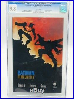 Batman The Dark Knight 1- 4 ALL CGC 9.8 Copies! Only 9.8 set listed on eBay