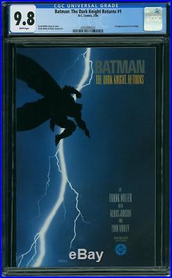 Batman The Dark Knight #1 CGC 9.8 DC 1986 Frank Miller! New Case! WP H6 320 cm