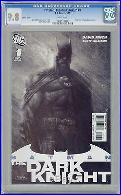 Batman The Dark Knight (1st Series DC) 1C 2011 Finch Sketch 1200 CGC 9.8