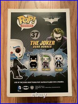 Batman The Dark Knight Bank Robber Joker funko pop