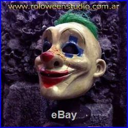 Batman The Dark Knight Grumpy Clown Bank Robber Latex Mask