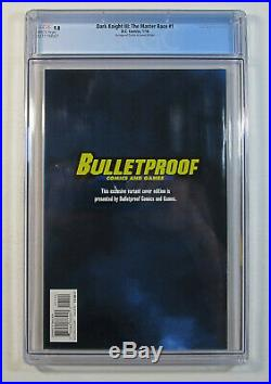 Batman The Dark Knight III #1 Cgc 9.8 Nm/mt Dell'otto Color Variant Bulletproof