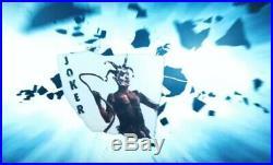 Batman The Dark Knight Joker Card Deck Prop Replica Heath Ledger Evidence
