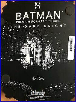 Batman The Dark Knight Premium Format Figure by Sideshow Collectibles 43/2000
