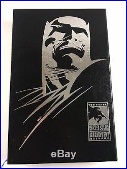 Batman The Dark Knight Returns 10TH Anniversary slipcase signed by Frank Miller