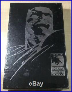Batman The Dark Knight Returns 10th Anniversary Sealed/Signed HC! Frank Miller