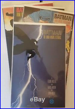 Batman The Dark Knight Returns 1986 #1-4 complete first prints plus special