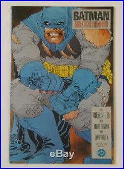 Batman The Dark Knight Returns (1986, DC) 1-4 Complete set 1st print HIGH GRADE