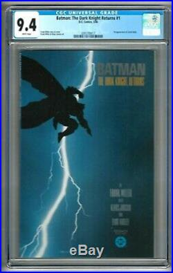 Batman The Dark Knight Returns #1 (1986) CGC 9.4 White Pages Miller 1st Print